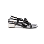 Authentic Second Hand Salvatore Ferragamo Perala Bow Thong Sandals (PSS-387-00088) - Thumbnail 1