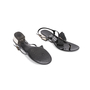 Authentic Second Hand Salvatore Ferragamo Perala Bow Thong Sandals (PSS-387-00088) - Thumbnail 5