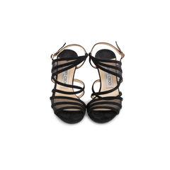 Vigo Strappy Suede Sandals