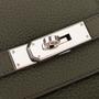 Authentic Second Hand Hermès Vert Olive Birkin 40 (PSS-393-00077) - Thumbnail 4