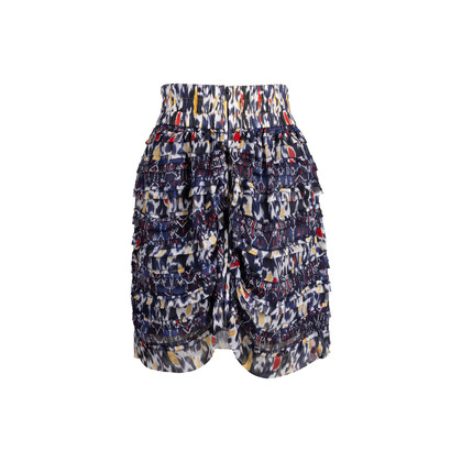 Authentic Second Hand Isabel Marant Printed Ruffle Skirt (PSS-340-00190)