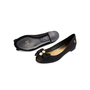Authentic Second Hand Chanel Peep Toe Ballet Flats with Bow Pearl (PSS-340-00202) - Thumbnail 4