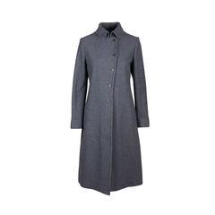 Wool Straight Coat