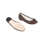 Authentic Second Hand Repetto Brown Ballerina Flats (PSS-705-00001) - Thumbnail 5