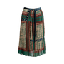 Authentic Second Hand Sacai Printed Pleated Midi Skirt (PSS-561-00040) - Thumbnail 0