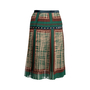 Authentic Second Hand Sacai Printed Pleated Midi Skirt (PSS-561-00040) - Thumbnail 1