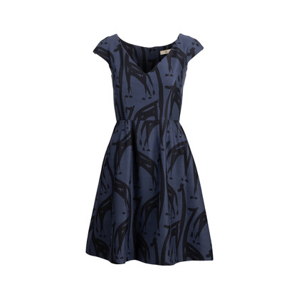 Authentic Second Hand Orla Kiely Fit-And-Flare Dress (PSS-705-00014)