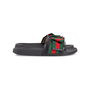 Authentic Second Hand Gucci Ribbon Bow Slides (PSS-503-00044) - Thumbnail 1
