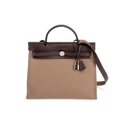 Authentic Second Hand Hermès Herbag Zip 31 (PSS-034-00047)