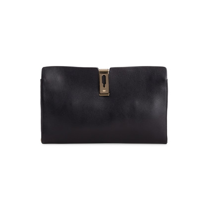 Authentic Second Hand Anya Hindmarch Albion textured-leather clutch (PSS-017-00018)