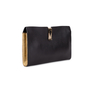 Authentic Second Hand Anya Hindmarch Albion textured-leather clutch (PSS-017-00018) - Thumbnail 1