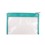 Authentic Second Hand Jil Sander Leather-Trimmed PVC Clutch (PSS-017-00019) - Thumbnail 1
