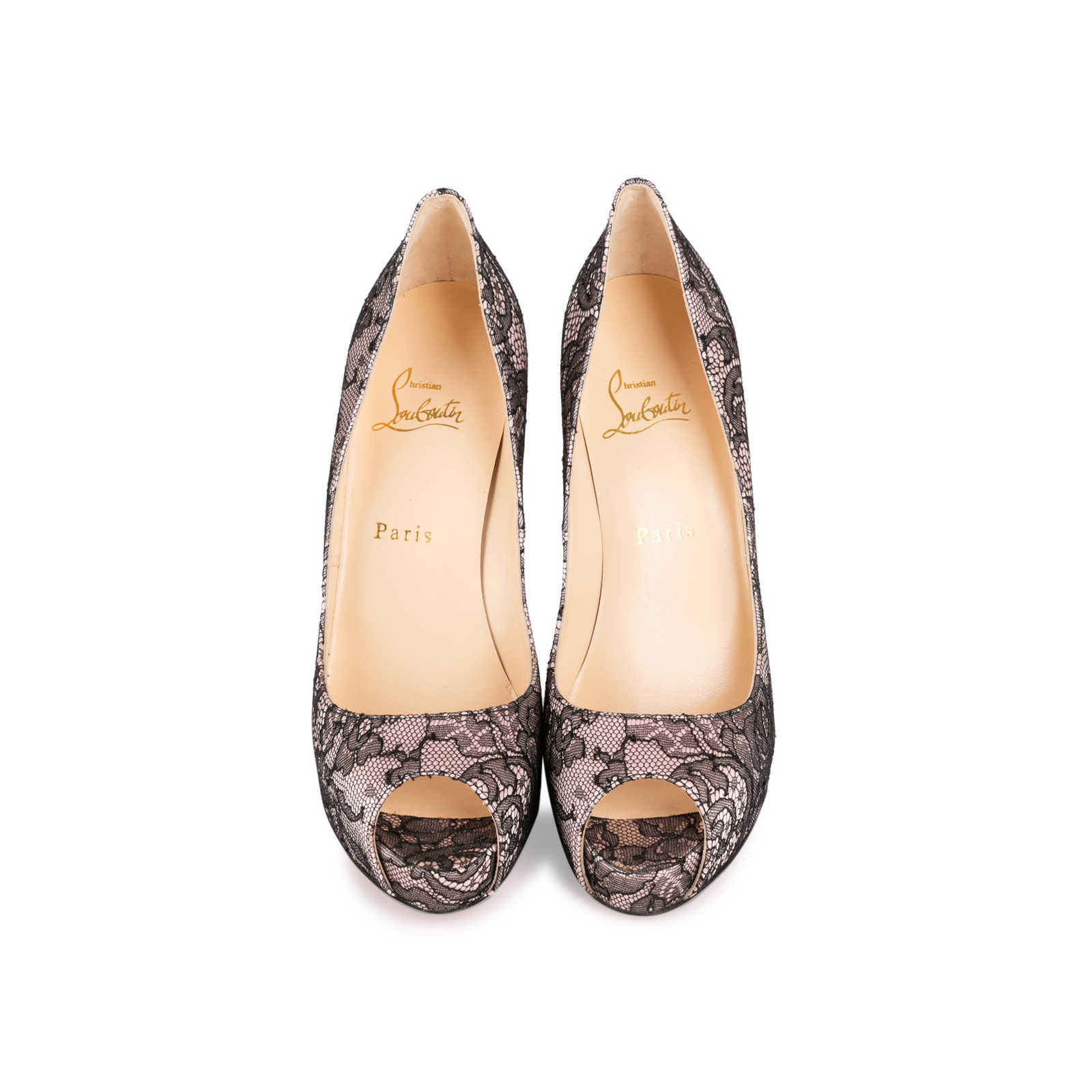 ad78d953044 Authentic Second Hand Christian Louboutin Very Prive 120 Pumps (PSS ...
