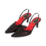 Authentic Second Hand René Caovilla Beaded Slingback Pumps (PSS-071-00264) - Thumbnail 1
