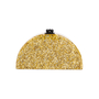 Authentic Second Hand Edie Parker Gold Confetti Semicircle Clutch (PSS-690-00042) - Thumbnail 2