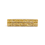 Authentic Second Hand Edie Parker Gold Confetti Semicircle Clutch (PSS-690-00042) - Thumbnail 3