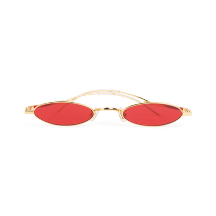 Authentic Second Hand Gentle Monster Vector 03 Oval Sunglasses (PSS-690-00043)