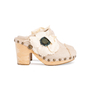 Authentic Second Hand Chanel Woven Slip On Mules (PSS-715-00012) - Thumbnail 2