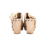 Authentic Second Hand Chanel Woven Slip On Mules (PSS-715-00012) - Thumbnail 3