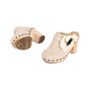Authentic Second Hand Chanel Woven Slip On Mules (PSS-715-00012) - Thumbnail 4