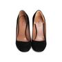 Authentic Second Hand Azzedine Alaïa Suede Clear Heel Pumps (PSS-715-00017) - Thumbnail 0