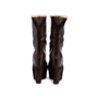 Authentic Second Hand Yves Saint Laurent Shearling Wool Wedge Booties (PSS-715-00020) - Thumbnail 3