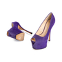 Authentic Second Hand Giuseppe Zanotti Liza Suede Pumps (PSS-715-00023) - Thumbnail 4