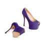 Authentic Second Hand Giuseppe Zanotti Liza Suede Pumps (PSS-715-00023) - Thumbnail 5