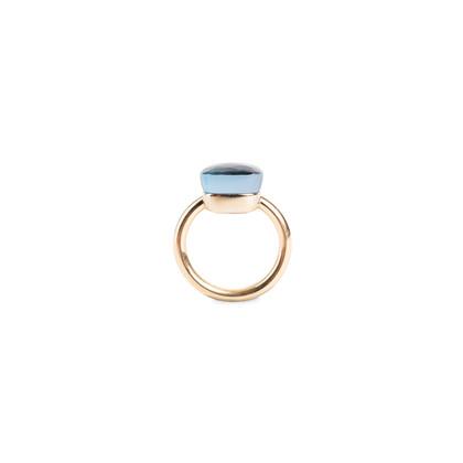 Authentic Second Hand Pomellato Nudo Maxi Blue Topaz Ring (PSS-071-00293)