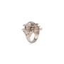 Authentic Second Hand Alexander McQueen Floral Skull Ring (PSS-190-00095) - Thumbnail 2
