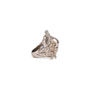 Authentic Second Hand Alexander McQueen Floral Skull Ring (PSS-190-00095) - Thumbnail 7