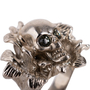 Authentic Second Hand Alexander McQueen Floral Skull Ring (PSS-190-00095) - Thumbnail 1