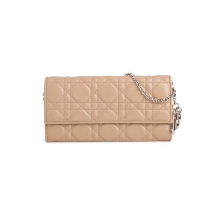 Authentic Second Hand Christian Dior Lady Dior Rendez-Vous Wallet (PSS-190-00101)