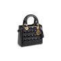 Authentic Second Hand Christian Dior Lady Dior Patent Leather Bag (PSS-190-00126) - Thumbnail 1