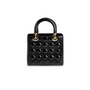 Authentic Second Hand Christian Dior Lady Dior Patent Leather Bag (PSS-190-00126) - Thumbnail 2