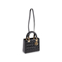 Authentic Second Hand Christian Dior Lady Dior Patent Leather Bag (PSS-190-00126) - Thumbnail 4