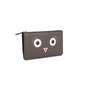 Authentic Second Hand Fendi Faces Leather Pouch (PSS-190-00100) - Thumbnail 1