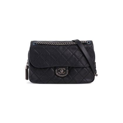 Authentic Second Hand Chanel Coco Sporran Jumbo Flap Bag (PSS-724-00002)