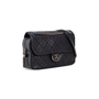 Authentic Second Hand Chanel Coco Sporran Jumbo Flap Bag (PSS-724-00002) - Thumbnail 1
