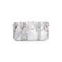 Authentic Second Hand Clara Kasavina Metallic Python Skin Clutch (PSS-424-00195) - Thumbnail 0