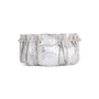 Authentic Second Hand Clara Kasavina Metallic Python Skin Clutch (PSS-424-00195) - Thumbnail 2