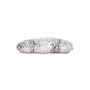 Authentic Second Hand Clara Kasavina Metallic Python Skin Clutch (PSS-424-00195) - Thumbnail 3