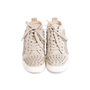 Authentic Second Hand Christian Louboutin Louis Suede High Top Sneakers (PSS-607-00017) - Thumbnail 0