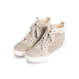 Authentic Second Hand Christian Louboutin Louis Suede High Top Sneakers (PSS-607-00017) - Thumbnail 1