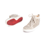 Authentic Second Hand Christian Louboutin Louis Suede High Top Sneakers (PSS-607-00017) - Thumbnail 4