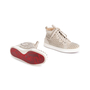 Authentic Second Hand Christian Louboutin Louis Suede High Top Sneakers (PSS-607-00017) - Thumbnail 5