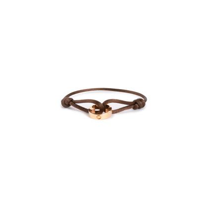 Authentic Second Hand Louis Vuitton Empreinte Bracelet With Gold Pendant (PSS-716-00004)
