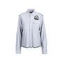 Authentic Second Hand Balmain Logo Patch Denim Shirt (PSS-074-00184) - Thumbnail 0