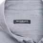 Authentic Second Hand Balmain Logo Patch Denim Shirt (PSS-074-00184) - Thumbnail 3