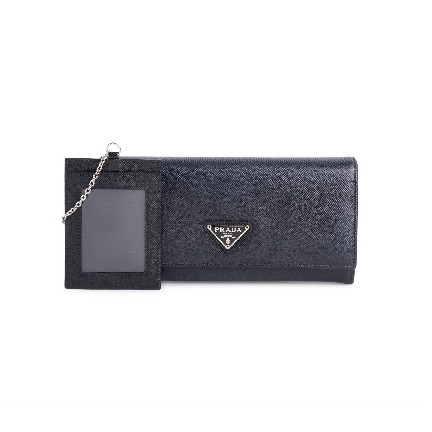 35b3fcae Foglio Tessuto Saffiano Long Wallet